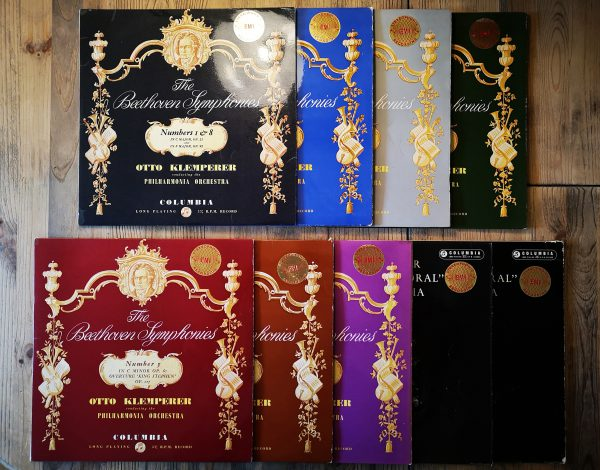 Columbia SAX Beethoven The Nine Symphonies Complete Set